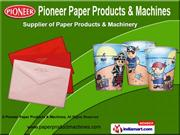 Paper Plate Forming Machine by Pioneer Paper Products & Machines