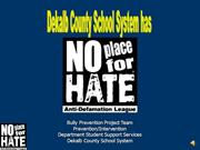 No Place for Hate Guidance Powerpoint