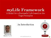 Mylife  Framework  -  Book  Introduction