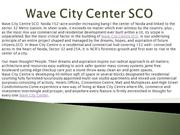 Wave City Centre SCO, Wave Mega City Centre,9910007460
