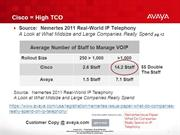 Good to Know Avaya TCO