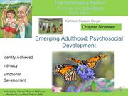 Berger Ch 19 Emerging Adulthood narrated