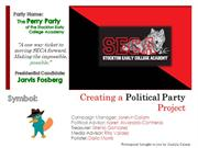 Creating a Political Party
