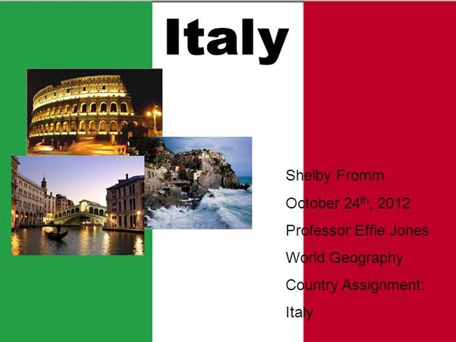 italy powerpoint |authorstream, Modern powerpoint