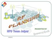 RF  PLANNING & FREQ PLANNING GTL