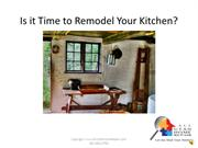 Is it Time to Remodel Your Kitchen