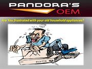 Fix your Home Appliances with Pandoras OEM Appliance Repair Service