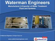 Water Purification Systems by Waterman Engineers, Ahmedabad