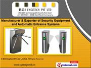 Security Systems by BGI Engitech Private Limited, Ahmedabad