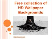 Free collection of HD Wallpaper Backgrounds
