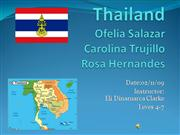 Thailand rosa carolina and Ofelia SHOW