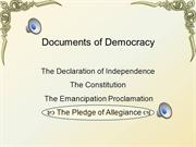 Docs of Democracy- Pledge