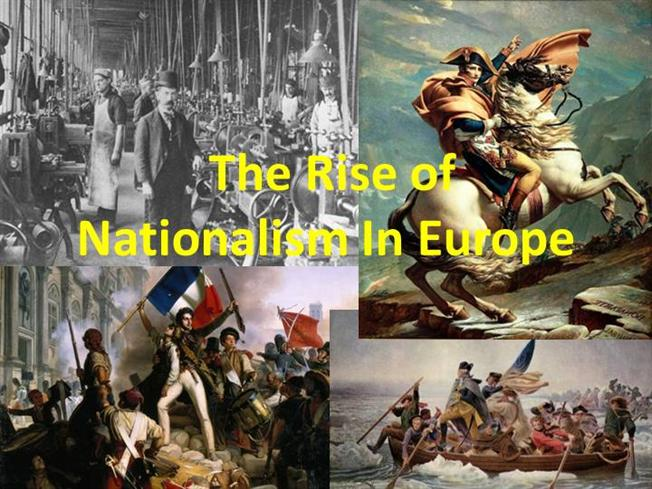 the rise of nationalism in europe essay The rise of nationalism in europe class ten social science history.