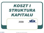 195.KC Cost of capital lecture -kisk