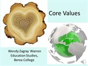 Core Values  7 02