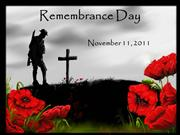 Remembrance Day Slide Show