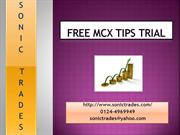 free mcx tips trial