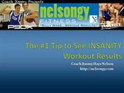 The #1 Tip to See INSANITY Workout Results