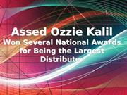 Assed Ozzie Kalil Won Several National Awards for Being the Largest Di