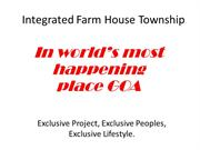 Integrated Farm House Township -farm house for sale  haritdharaa.com
