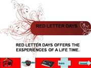 red letter days power point