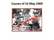 Causes of 13 May 1969 (3)
