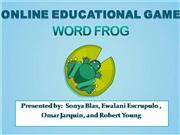 ONLINE EDUCATIONAL GAME