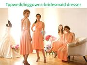 charming bridesmaid dresses