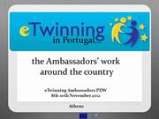 PDW Athens - the Ambassadors' work around the country