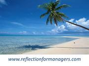 reflection for manager