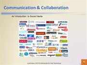 Communication & Collaboration - Social Media