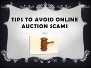 Tips to Avoid Online Auction Scams, bp holdings