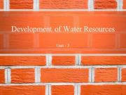 Water Resources - Pakistan