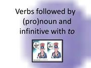 verb+object+infinitive