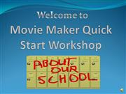 Quick Start Workshop Part One