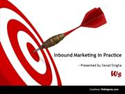 Inbound Marketing by Sanat Singha
