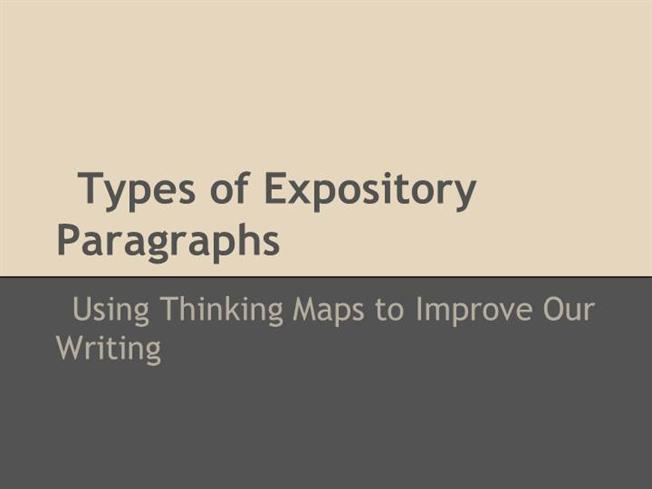 what are the types of expository writing