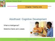 DP Ch 21 adulthood cognitive development narrated r