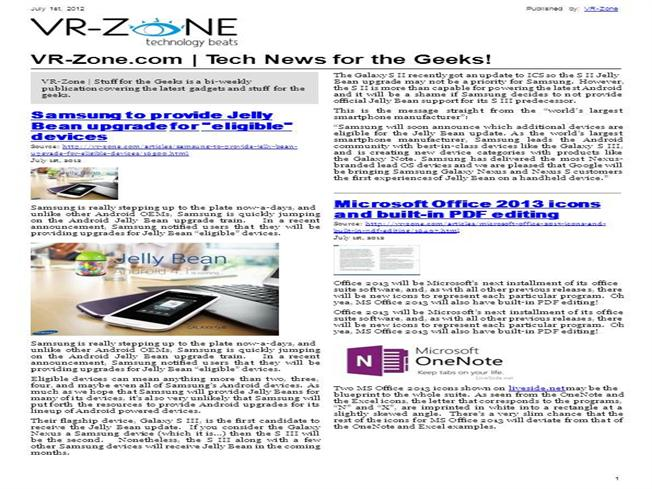 VR-Zone Tech News for the Geeks Jul 2012 Issue |authorSTREAM