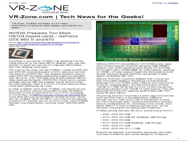 VR-Zone Tech News for the Geeks Jun 2012 Issue |authorSTREAM