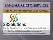 Bangalore CFO Services, Bangalore Outsourced CFO Services - s3solution