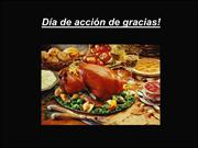 Spanish Presentation: Thanksgiving