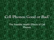 Cellular Country Review: Are Cell Phones Good or Bad?