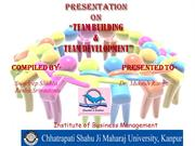 FINAL PPT_TEAM BUILDING