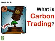 3. carbon trading