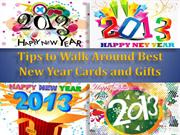 Tips to Walk Around Best New Year Cards and Gifts
