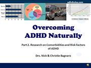 2 ADHD Risk Factors and Comorbidities
