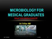 Microbiology for medical graduates