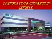 Corporate governance in Infosys