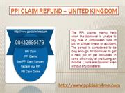 PPI Claim Refund - United Kingdom